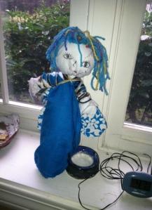 Plastic Bottle Doll